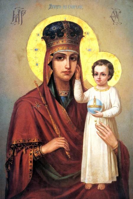 Икона 3. Пресвятая Богородица