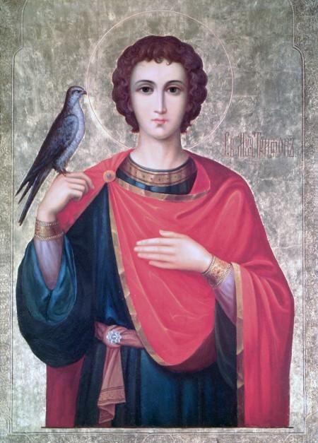 Икона 7. Святой мученик Трифон