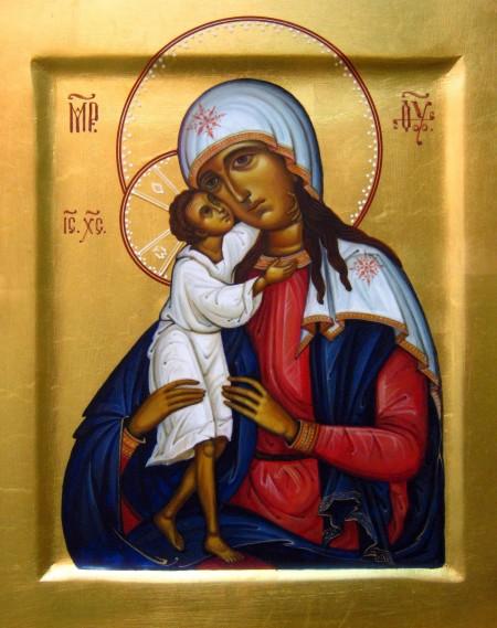 Икона 11. Божья Матерь «Взыскание погибших»
