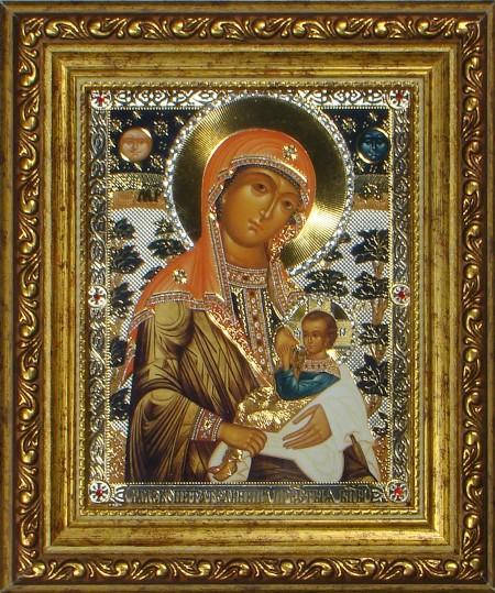 Икона 19. Божья Матерь «Млекопитательница»