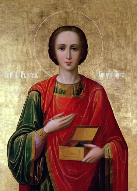 Икона 21. Святой великомученик Пантелеимон