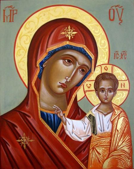 Икона 24. Божья Матерь «Казанская»