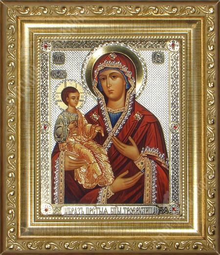 Икона 31. Божья Матерь «Троеручица»