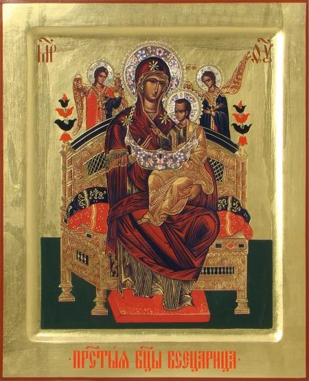 Икона 34. Божья Матерь «Всецарица»